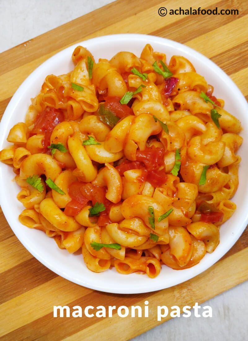 Macaroni Pasta Indian Style Recipe Pasta Indian Style Recipe