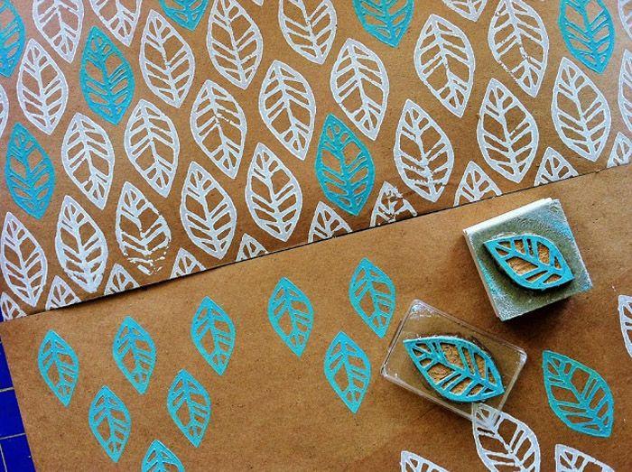 Poppytalk: A Collection of Random DIYs -  Adventures in handprinting   Sketchy Notions