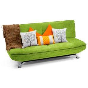 Edo Sofa Bed (Lime Green)