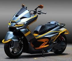 Resultado De Imagem Para Honda Pcx 125 Custom Honda Moto Bike
