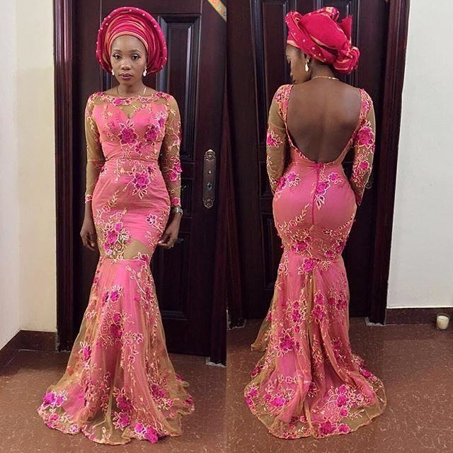 Pin by Obi Nna on ankara | African lace dresses, African ...
