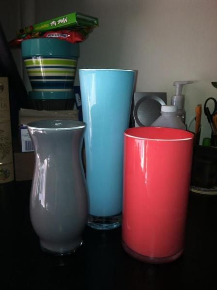 Painted Vases Craft Painted Vases And Diy Ideas