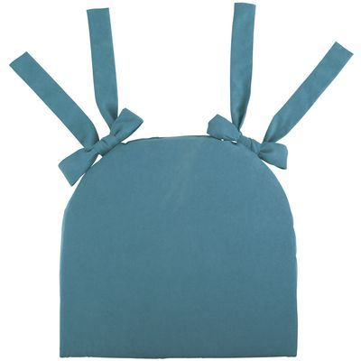 Calliope Dining Cushion -Teal - Pier 1 - online only