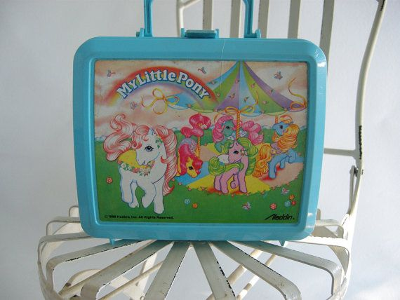 Image result for my little pony lunch box 80s