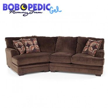 Best Charisma 2 Piece Sectional With Left Arm Facing Cuddler 400 x 300