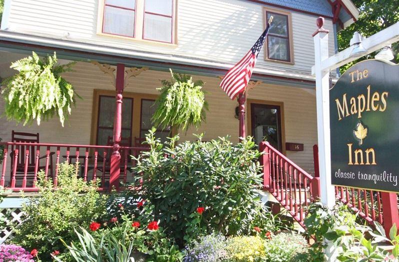 The Maples Inn * Bar Harbor * Maine * B&B Maine bed