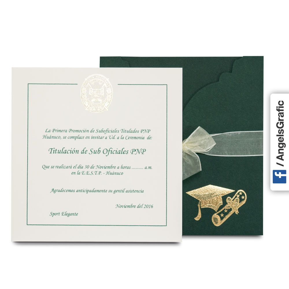 Modelos De Invitaciones De Promocion Tarjeta De Invitaci