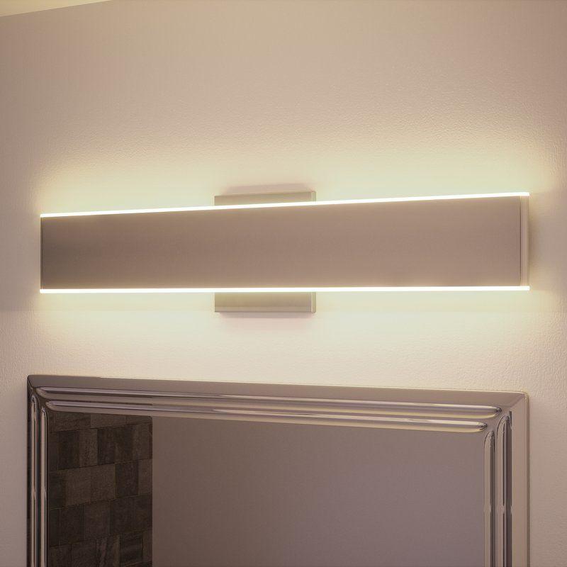 Crompton 1 Light Led Bath Bar Led Bathroom Lights Bathroom Lighting Bathroom Light Fixtures