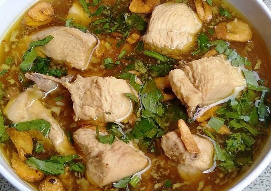 Resep Swike Ayam Tauco Cukup 5 Langkah Pembuatan Resep Di 2021 Resep Makanan Enak Ayam