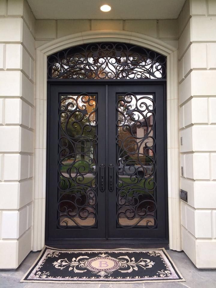 Iron Front Door Canteradoors Iron Front Door Wrought Iron Front Door Steel Front Door