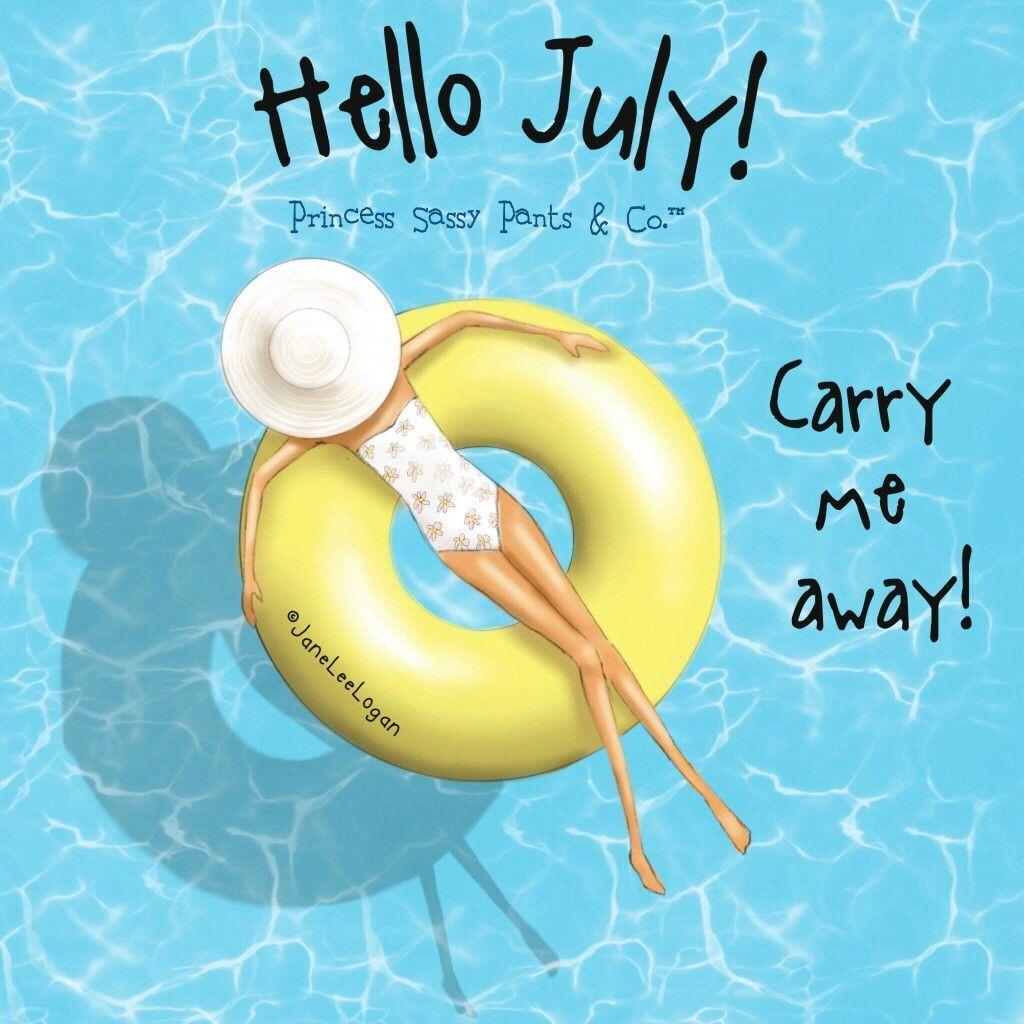 Princess Sassy Pants Hello July