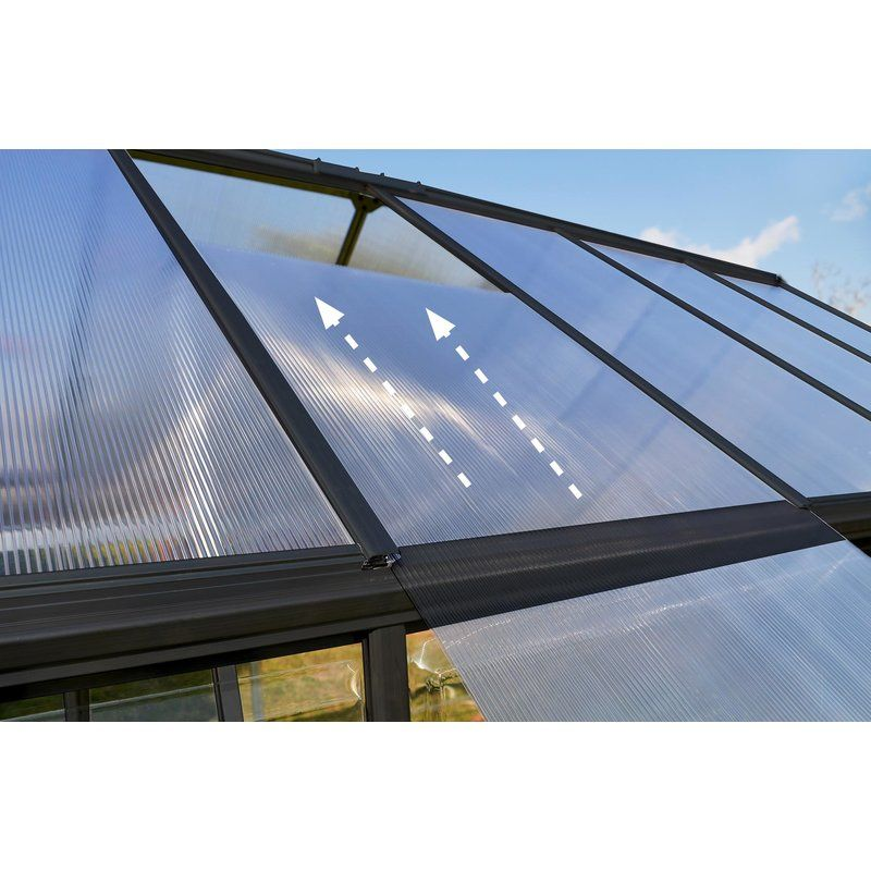 Hybrid 6 Ft. W x 6 Ft. D Greenhouse Outdoor, Plant growth