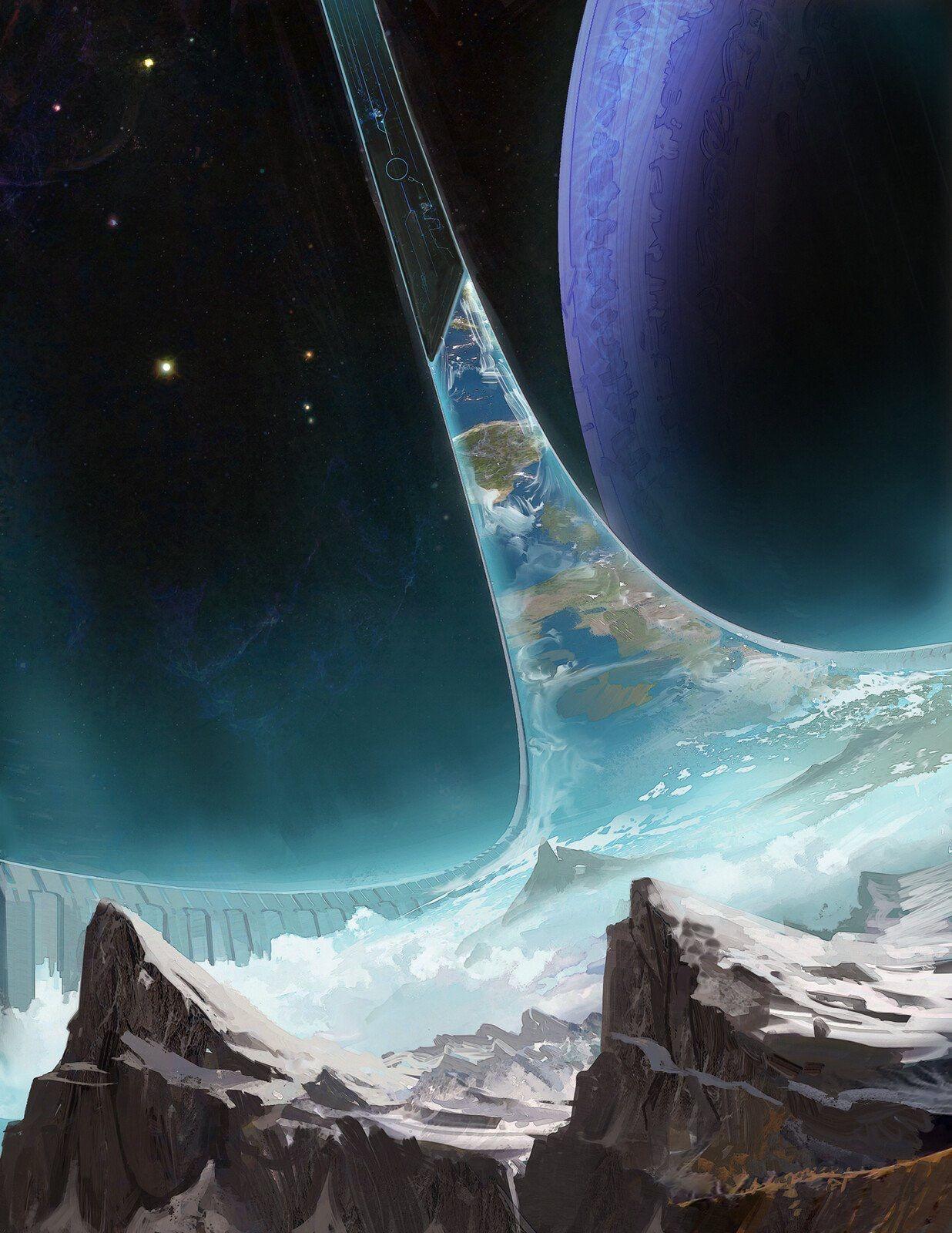 Pin By Gerard Schafhautle On Halo Halo Game Halo Videos Fantasy Landscape