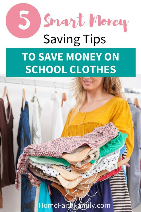 5 Smart Money Saving Tips To Save Money on School Clothes is part of School Clothes Ideas - These money saving tips are perfect for buying cute outfits for school that won't have you going broke  You can save money on back to school clothes