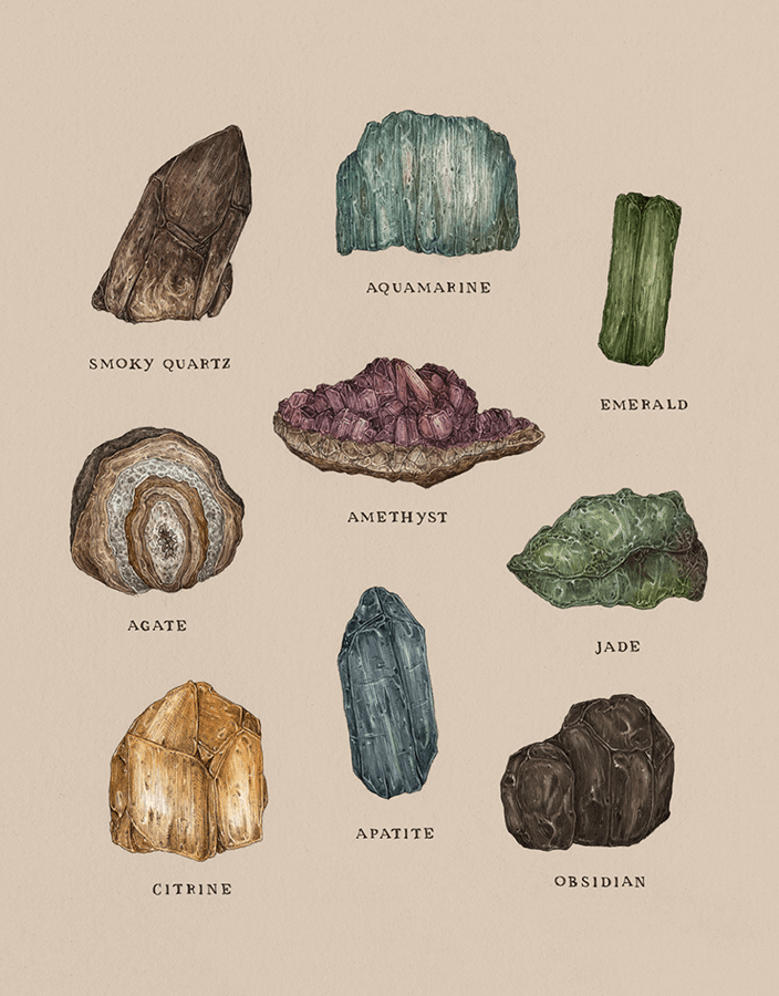 Gems And Minerals | Postable