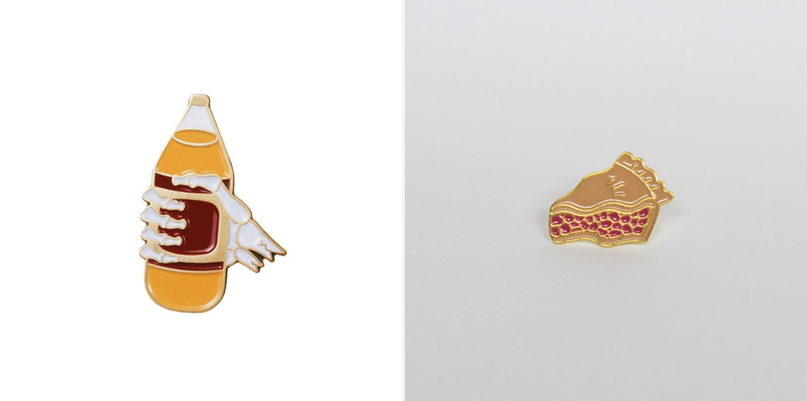 Food-Themed Pins and Brooches - Cool Hunting