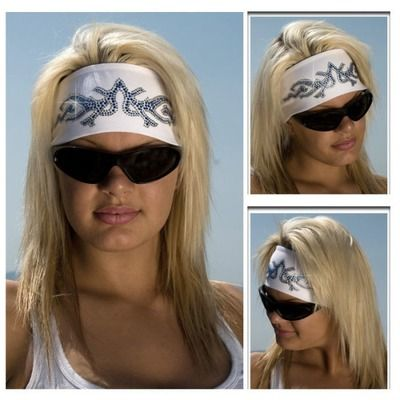 Tribal HeadBand-Biker and Motorcycle Accessories for the Ladies   MotorcycleHairstylesForWomen 8f6f874c428