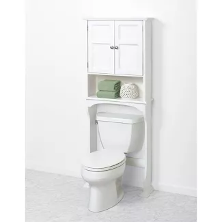 Shop For Over The Toilet Cabinet Online At Target Free Shipping And Save 5 Every Day With Your Target Redc Bathroom Space Saver Small Bathroom Toilet Storage