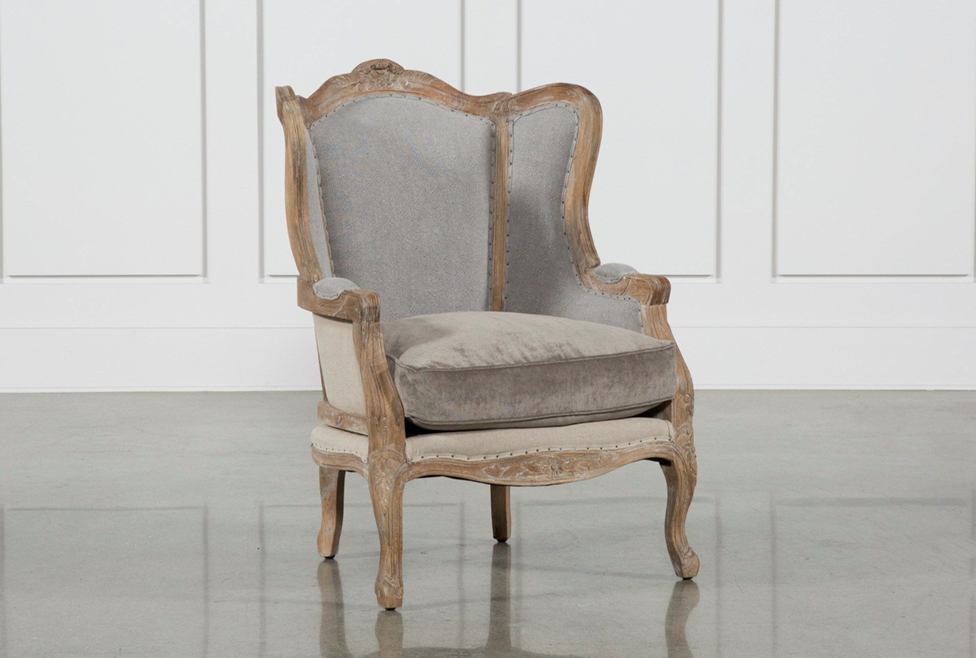 Oak wood chair beige woods living spaces and spaces