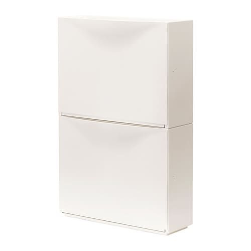 Trones Shoe Cabinet Storage White 52x39 Cm Rangement Chaussures Placard Chaussure Et Stockage Ikea