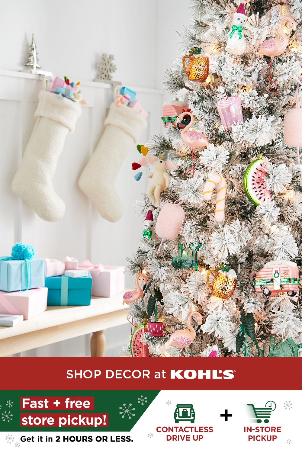 Find holiday decor and more at Kohl's. in 2020 | Holiday decor