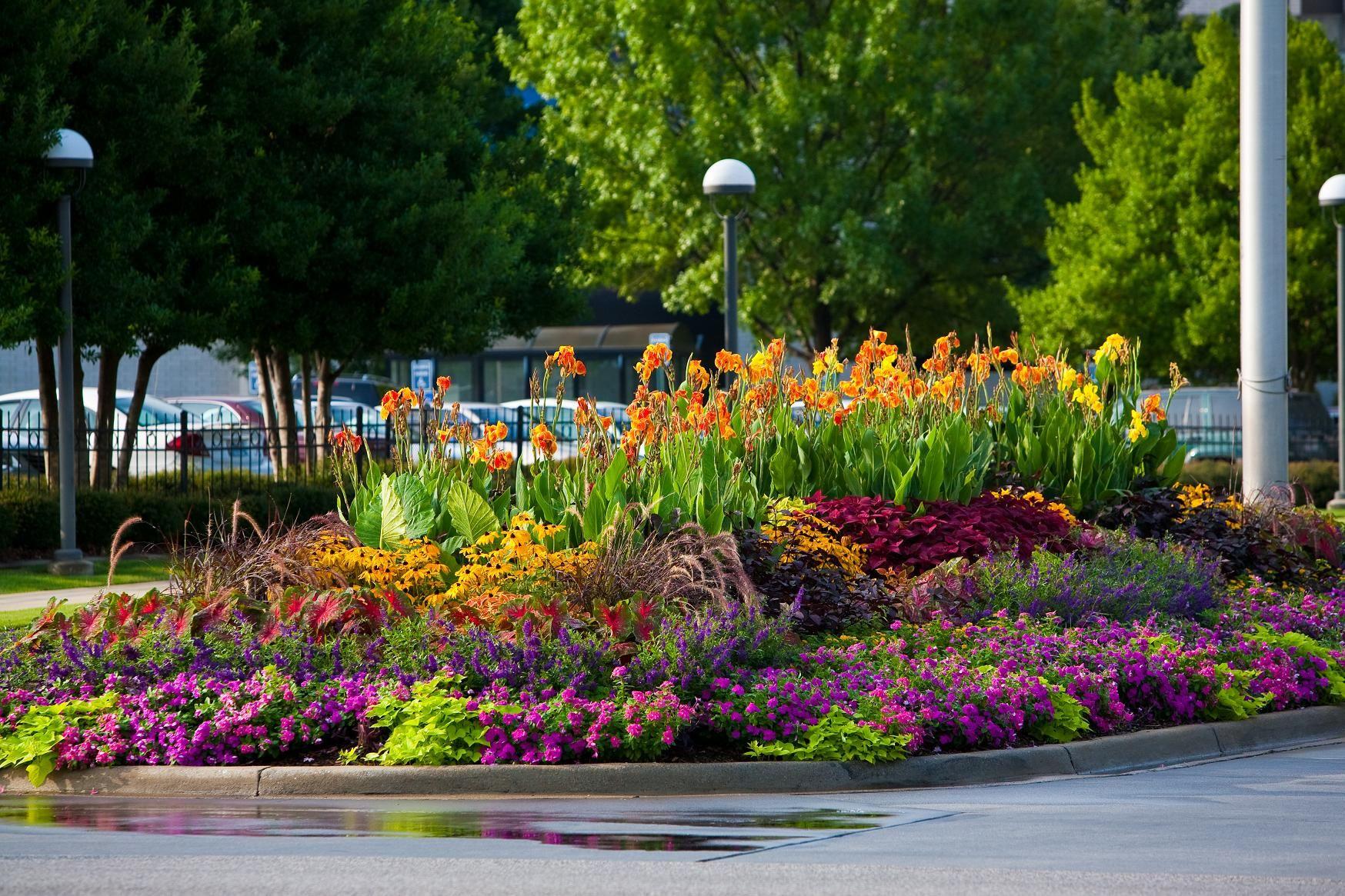 Perennial garden layout ideas 1748 1165 pixels - Perennial flower bed design plans ...