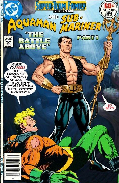 Aquaman Namor Super Teams Teams Ups Pinterest Aquaman