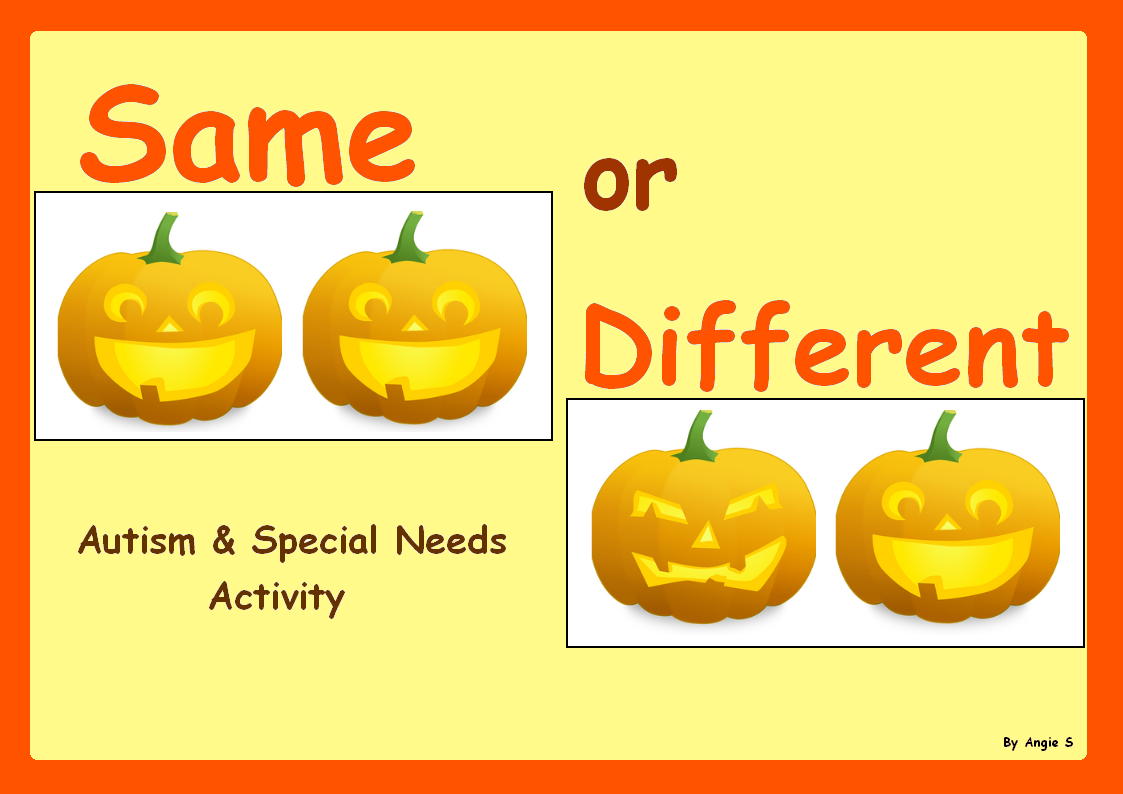 Jack O Lantern Sorting Activity For Halloween