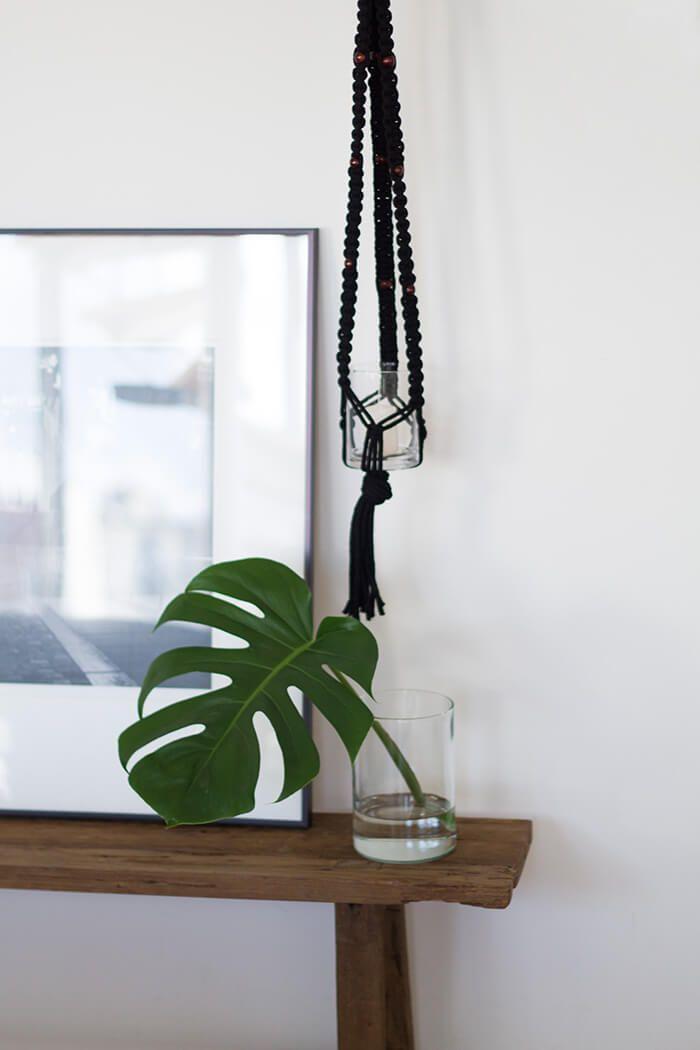 diy makramee knoten anleitung f r anf nger linda loves diy deko pinterest knoten. Black Bedroom Furniture Sets. Home Design Ideas