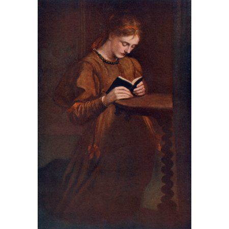 Great Pictures in Private Galleries 1905 Prayer Canvas Art - George Watts (18 x 24)