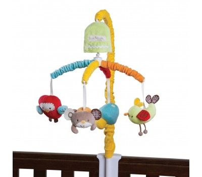 Living Textiles Hopscotch Musical Mobile Set The One Stop Baby Shop Baby Bunting Innovative Toys Gender Neutral Nursery Musical Mobile