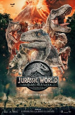 La Meca Del Cine Jurassic World Fallen Kingdom Todos Los Trailer Jurassic World Dinosaurios De Jurassic Park Dinosaurios Jurassic World