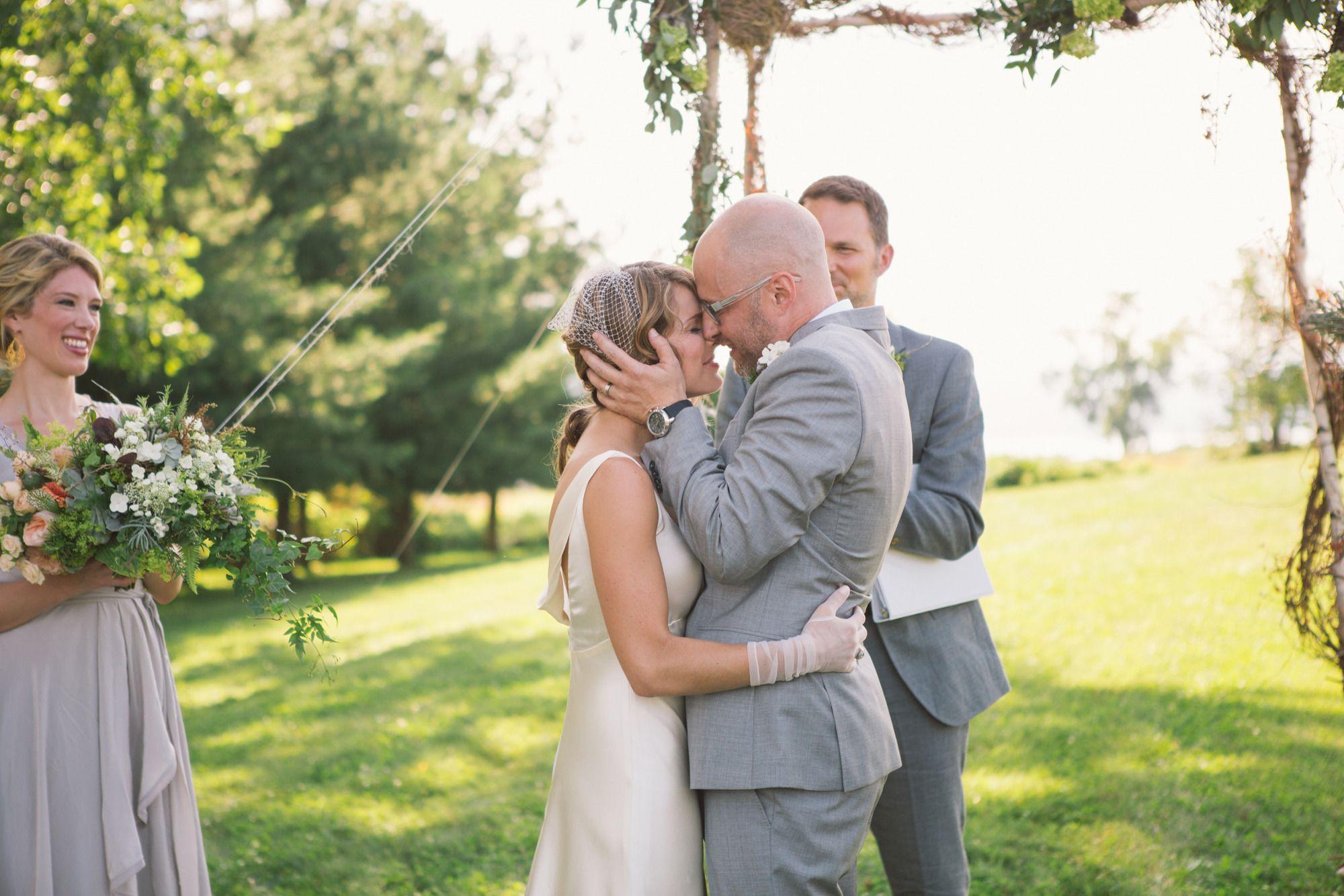 I do | Finger Lakes Barn Wedding from Alexandra Meseke Photography  Read more - http://www.stylemepretty.com/new-york-weddings/2013/10/23/finger-lakes-barn-wedding-from-alexandra-meseke-photography/