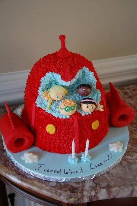 Little Einstein Birthday Cake Birthday Cakes Pinterest Albert