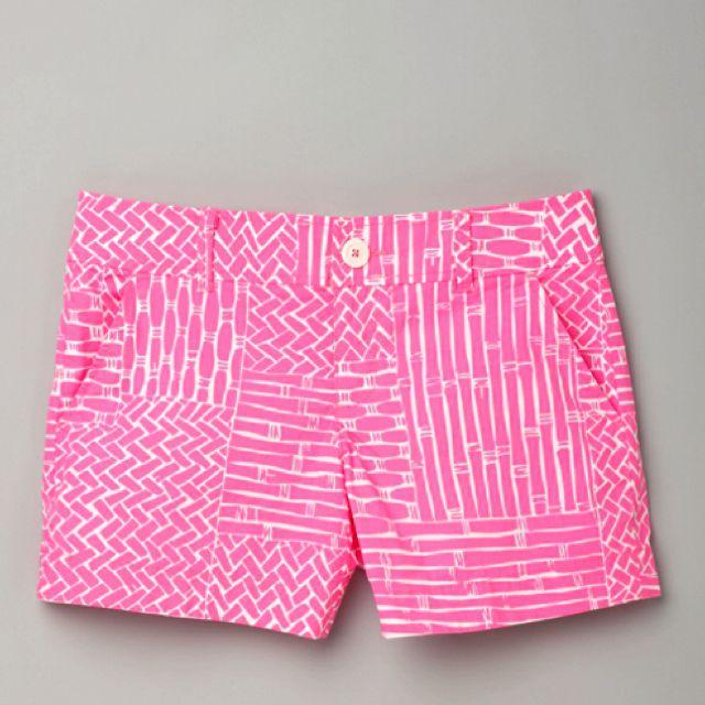 Pink Lilly Pulitzer shorts
