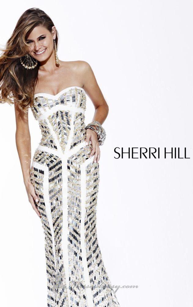 Sherri Hill 2813 | R e d C a r p e t | Pinterest