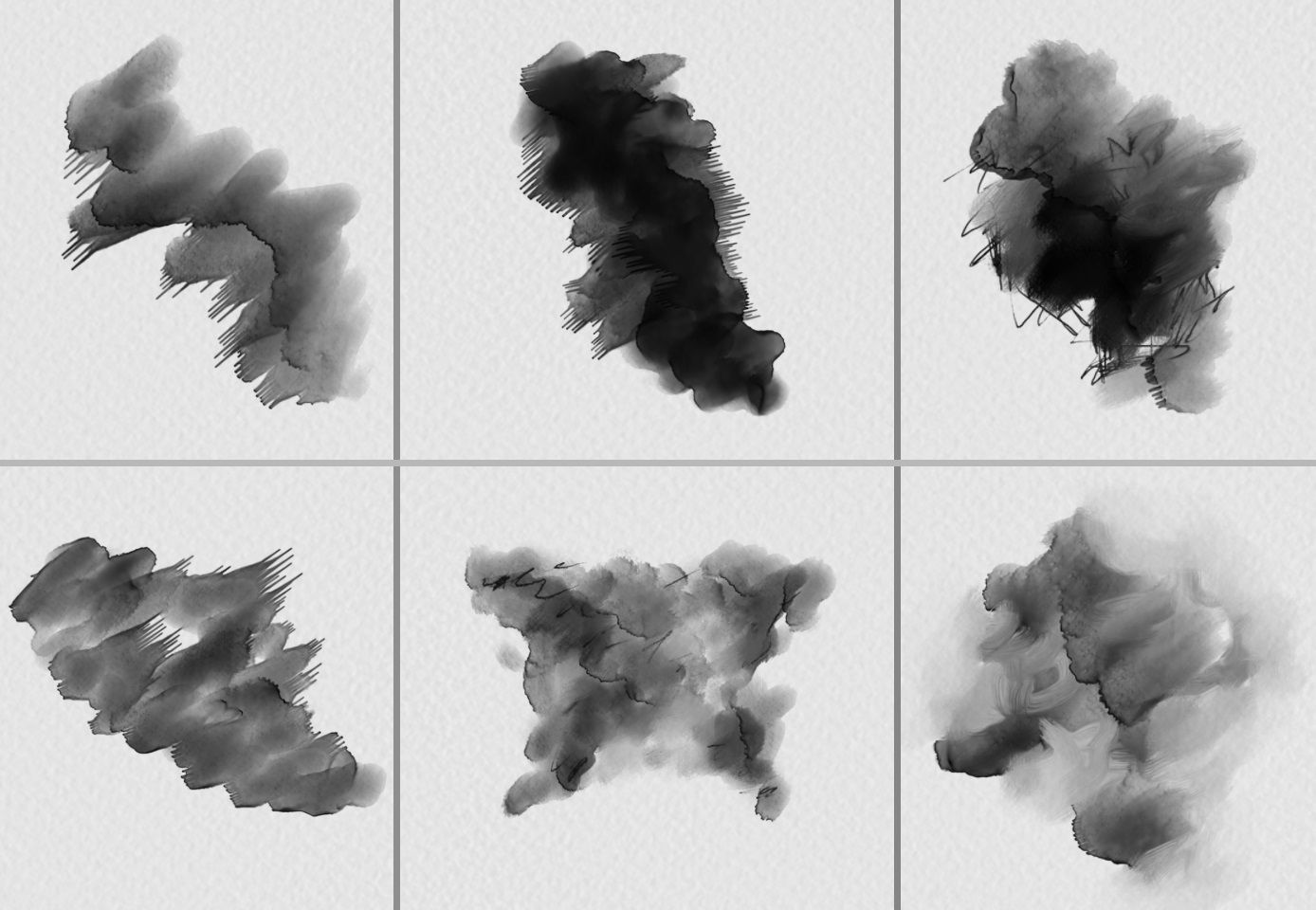 Free High Res Watercolour Photoshop Brushes Set 1 Photoshop