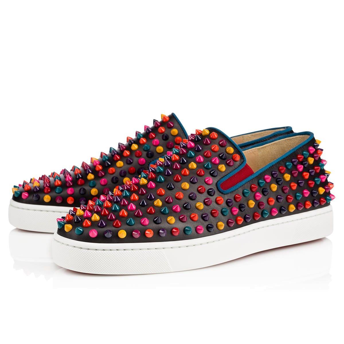 louboutin Boat Shoe Multicolore