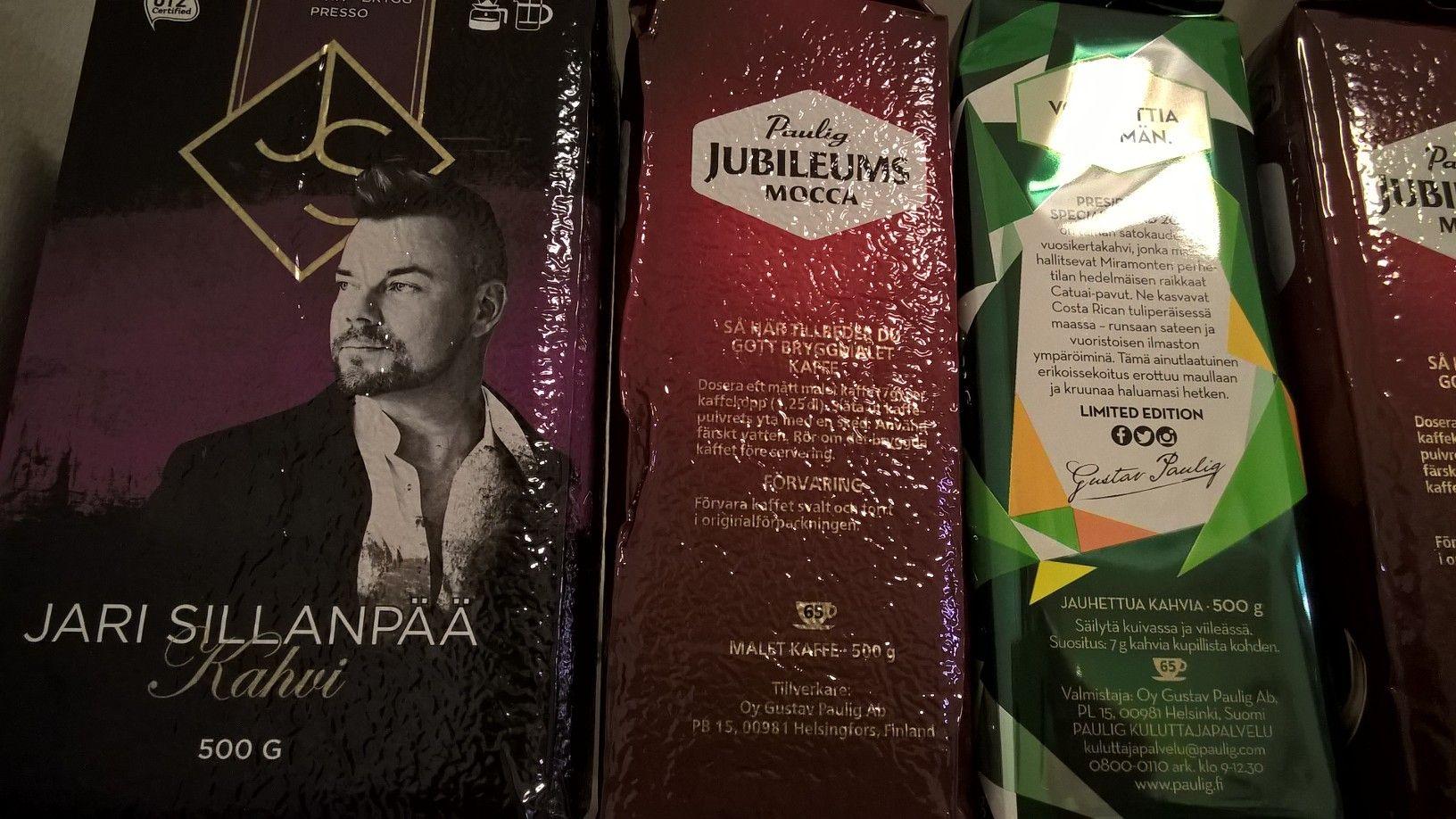 Oli vaan pakko. Jari Sillanpää -kahvi. Ain laulain työtäs tee. #kahvitauko #kahvi