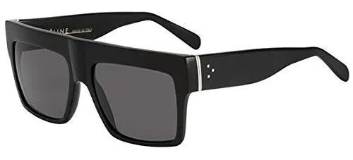 Celine Black Top Square Sunglasses Polarised Lens Category 3 Size