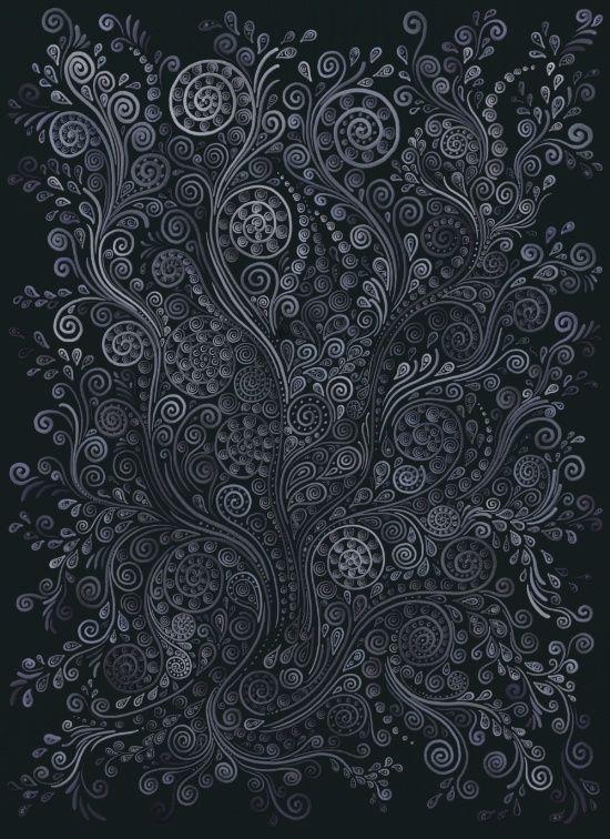 3d Ornaments Soft Blue Art Print By Ivana On Society6
