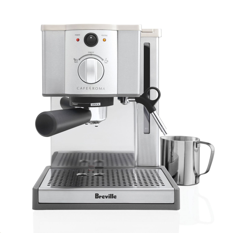 Breville Esp8xl Cafe Roma Stai Walmart Com In 2020 Breville Cafe Roma Espresso Machine Best Espresso Machine Breville Espresso Machine