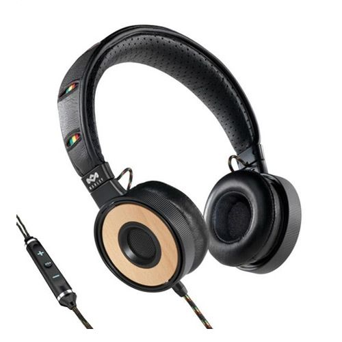 Freedom Redemption Song On-Ear Headphones with Microphone and 3