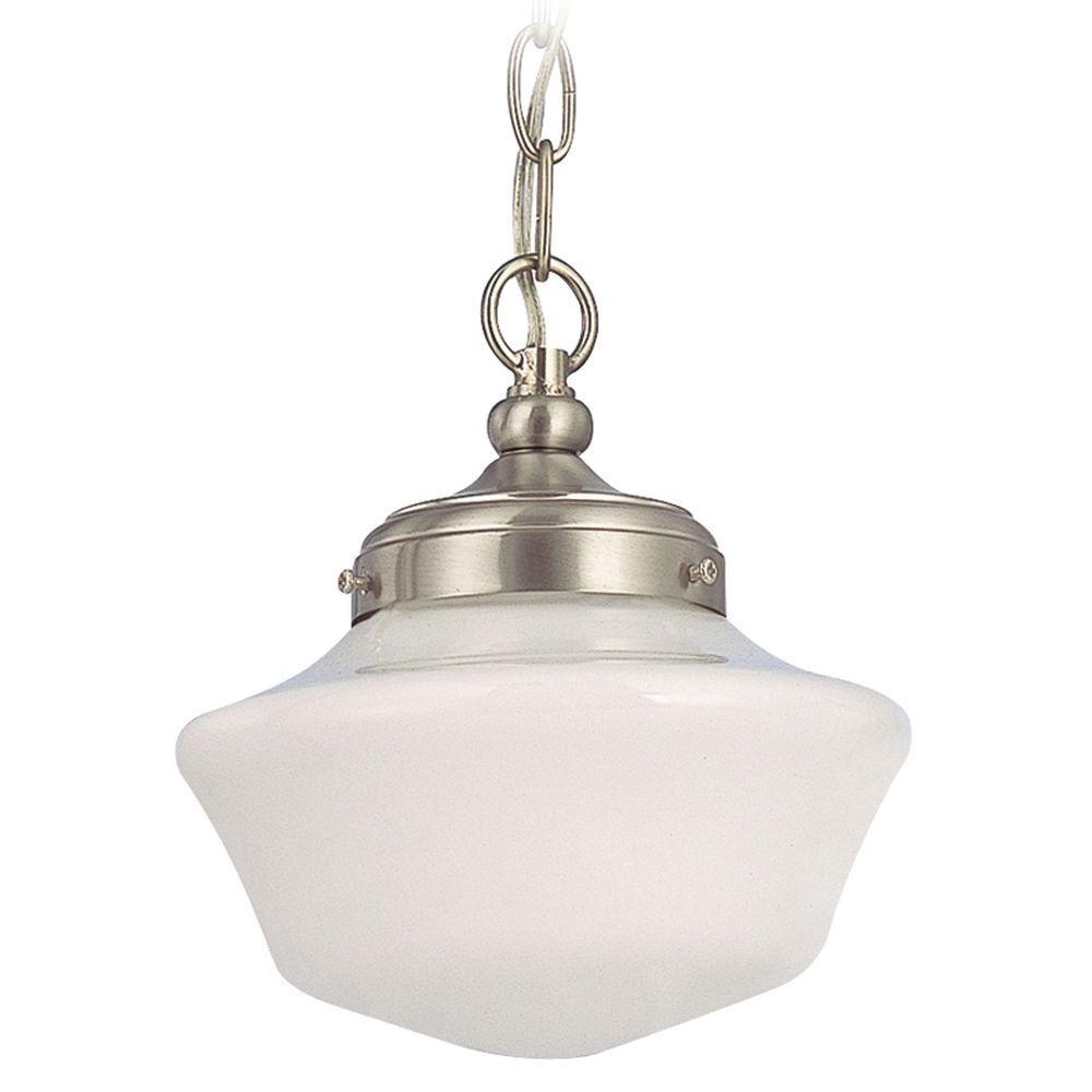 8 Inch Schoolhouse Mini Pendant Light With Chain Lightfixtures Lighting Decor Lights Remod Mini Pendant