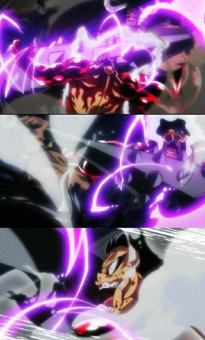 Luffy Vs Kaido One Piece Luffy Anime One Piece