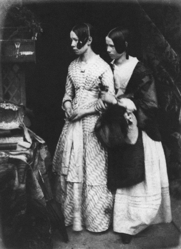 Ellen Milne; Agnes Milne by David Octavius Hill, and Robert Adamsoncalotype, 1843-1848 http://www.npg.org.uk/collections/search/portrait/mw04429/Ellen-Milne-Agnes-Milne?LinkID=mp11619=art=60=2=131