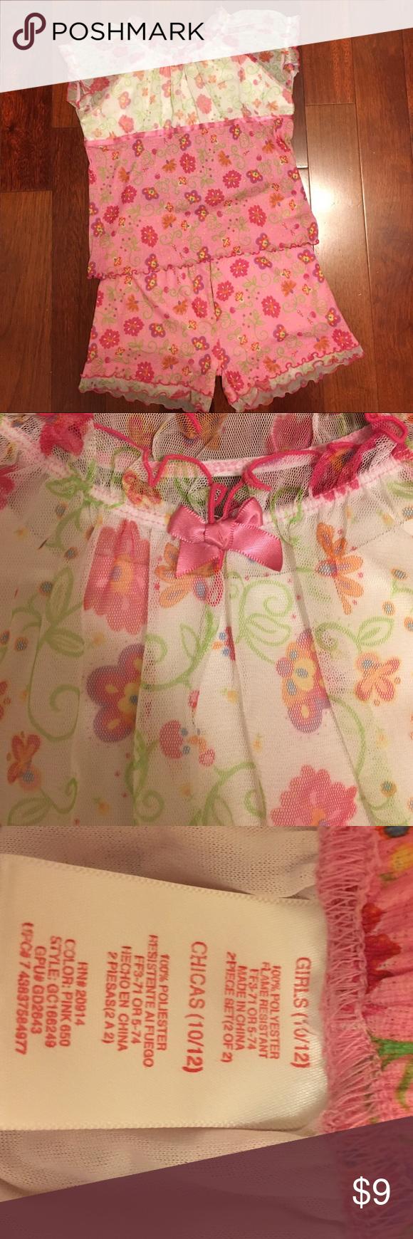 NWOT Girls PJs Brand new! Cute pjs! Girls M 10/12 Pajamas Pajama Sets