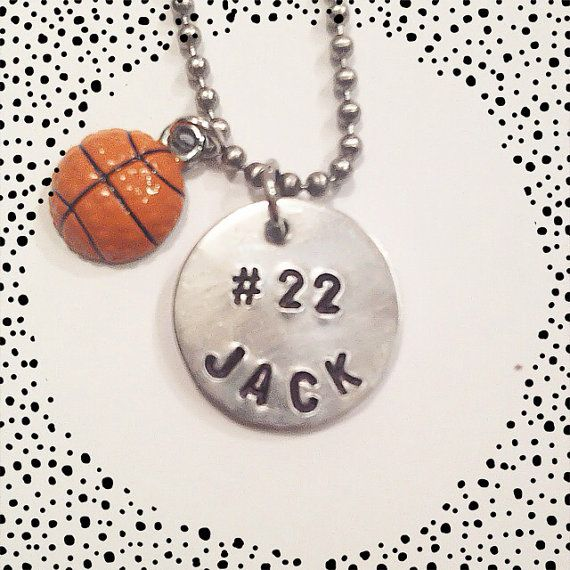 Personalized sports number basketball football by PENNISPRINTS
