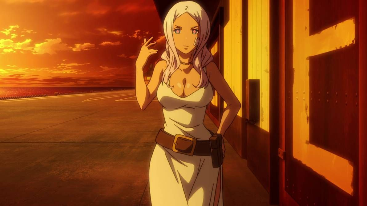 Pin On Fire Force Princess Hibana