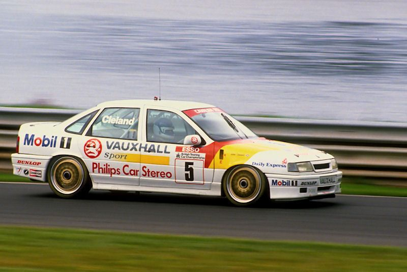 Gallery 25 years of Vauxhall in the BTCC Vauxhall